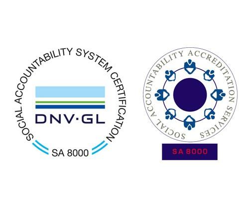 Certification SA 8000