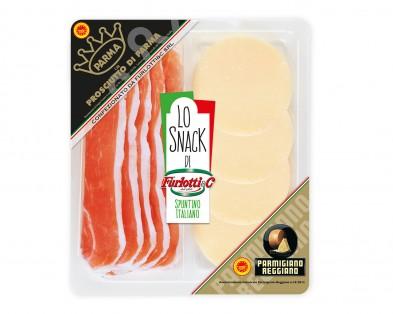 Prosciutto di Parma e Parmigiano Reggiano